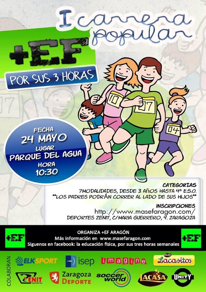 Poster Carrera +EF