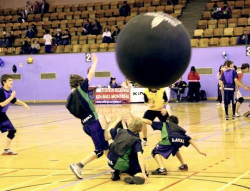 Test de Kinball: un deporte diferente