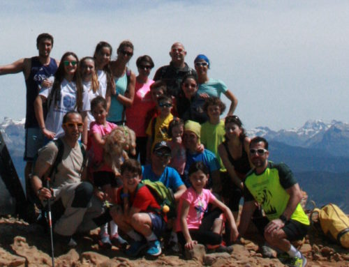 Gran día de convivencia en el Ascenso a la Peña Oroel