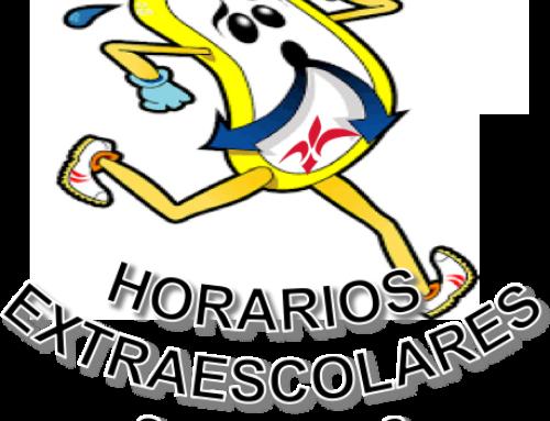 Horarios Extraescolares 2017-2018