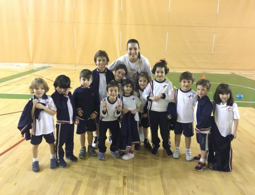 Primer partido para la Escuela de Baloncesto de nuestro colegio