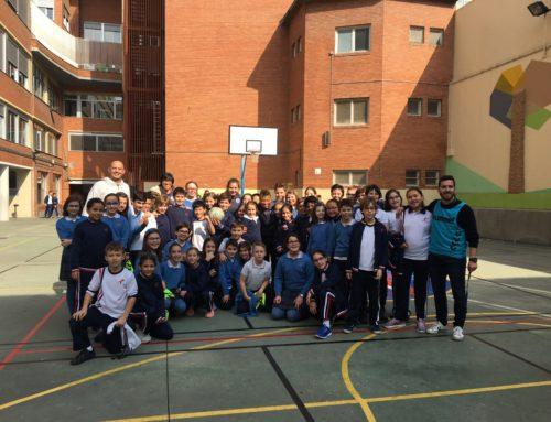 Clinic de fútbol con el Zaragoza CFF