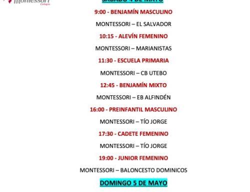 Este fin de semana se disputa el XV Memorial de Baloncesto D. Luis Manuel García Urrea